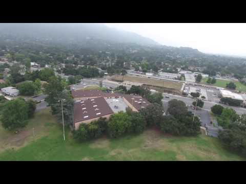 Monrovia, Ca, Aerial Tour