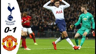 Tottenham vs Manchester United 0-1 Highlights 2019