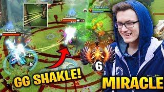Miracle Windranger GG SHACKLE SHOT - Taking Top 1 Dota 2