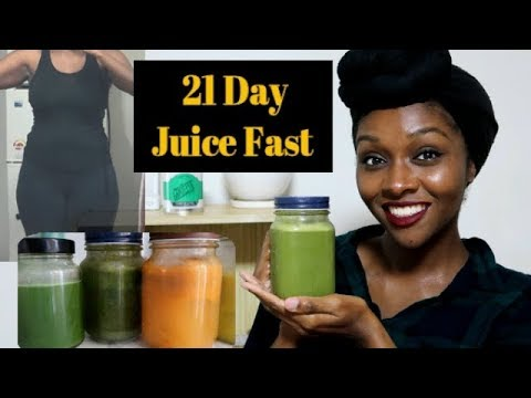 21 day juice fast  days 13  weight loss  youtube