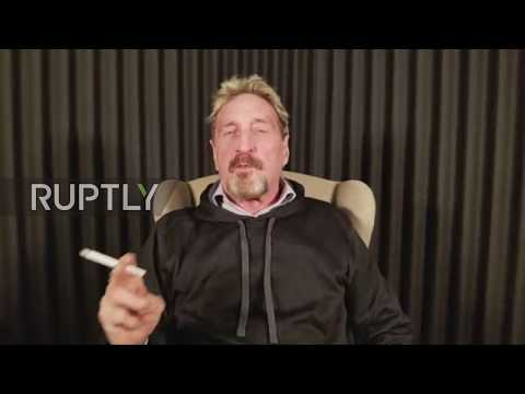 USA: McAfee cyber security guru warns everybody at risk after he gets hacked
