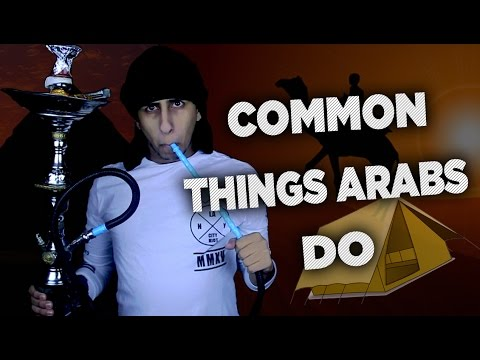 common-things-arabs-do