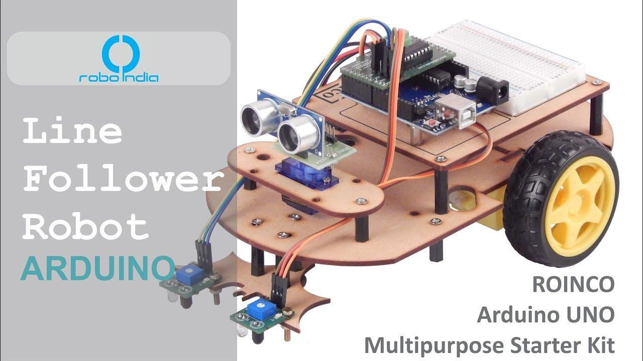 Arduino UNO Multipurpose Kit - Robo India || Tutorials