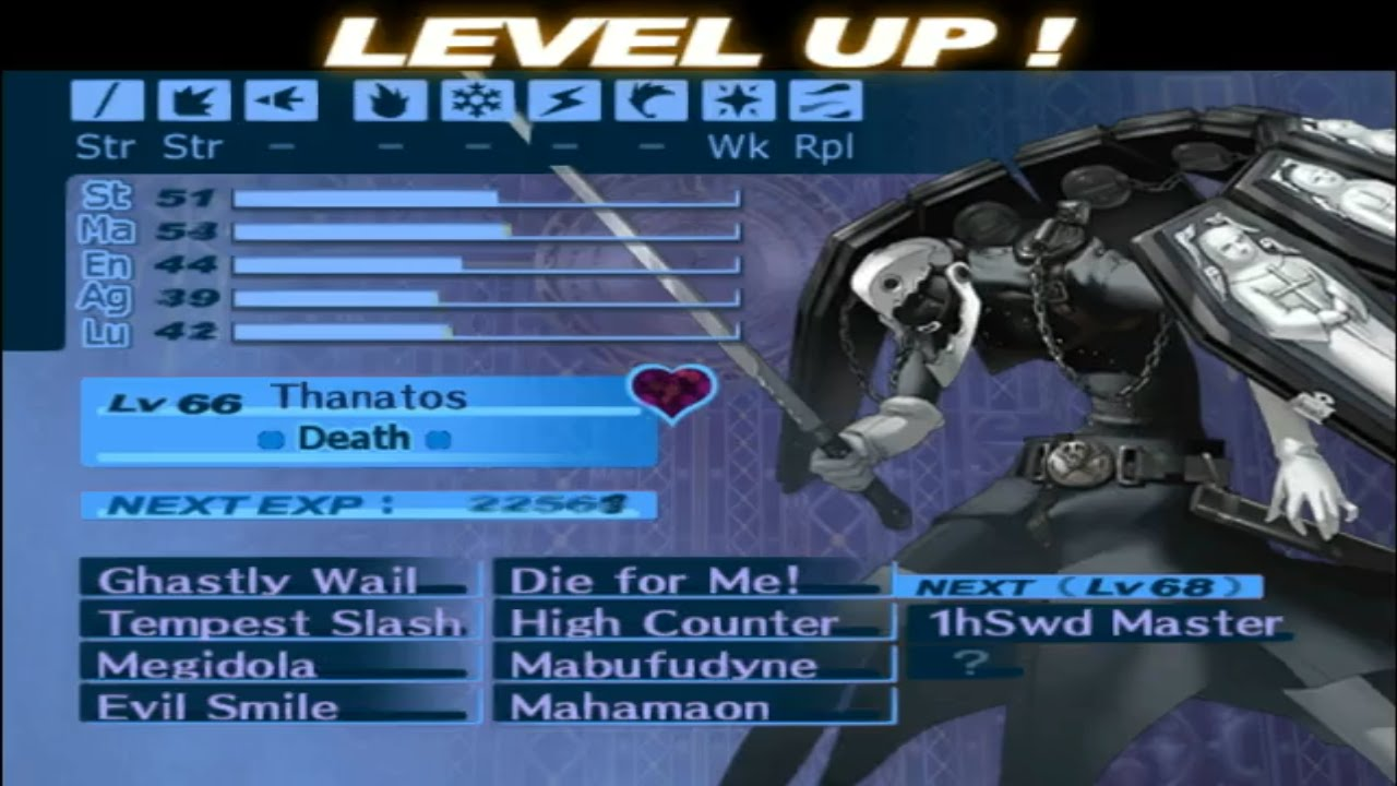 Persona 3 Fes Journey 100 Hard Mode Part 97 Fusing Thanatos The Bringer Of Death