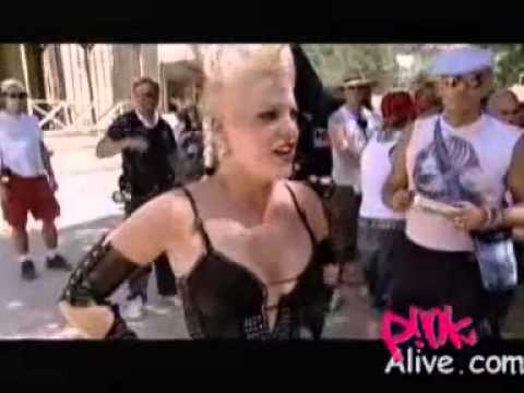 P!nk - Making Of Trouble Part 1