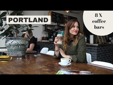 8 X the best COFFEE BARS in Portland (Oregon) // TRAVEL GUIDE // Your Little Black Book