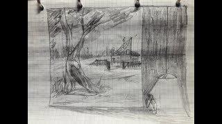 """Анализ рисунков. Проективная методика: """"Дом, дерево, человек"""". Часть 2"""