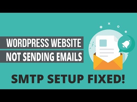 How To Fix WordPress Not Sending Emails Issue - Gmail SMTP Setup Tutorial