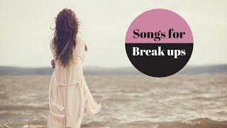 Kpop songs to get over a break up