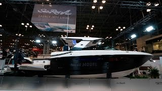 Introducing the All-New Sea Ray SLX 400 at the New York Boat Show