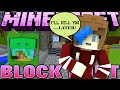 MINECRAFT BLOCK HUNT | I'LL KILL YOU LATER :) | GAMER CHAD & RADIOJH GAMES