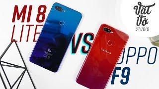 So sánh chi tiết Xiaomi Mi 8 Lite và Oppo F9