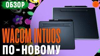 Новые Wacom Intuos ▶️ Обзор графических планшетов Small и Medium