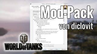 WoT ·Meine Diclovit Mod-Pack-Einstellungen ·[de]
