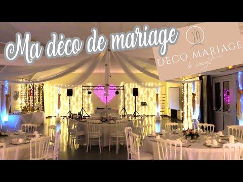 VLOG MARIAGE : Décoration de la salle avec DECO MARIAGE le ...