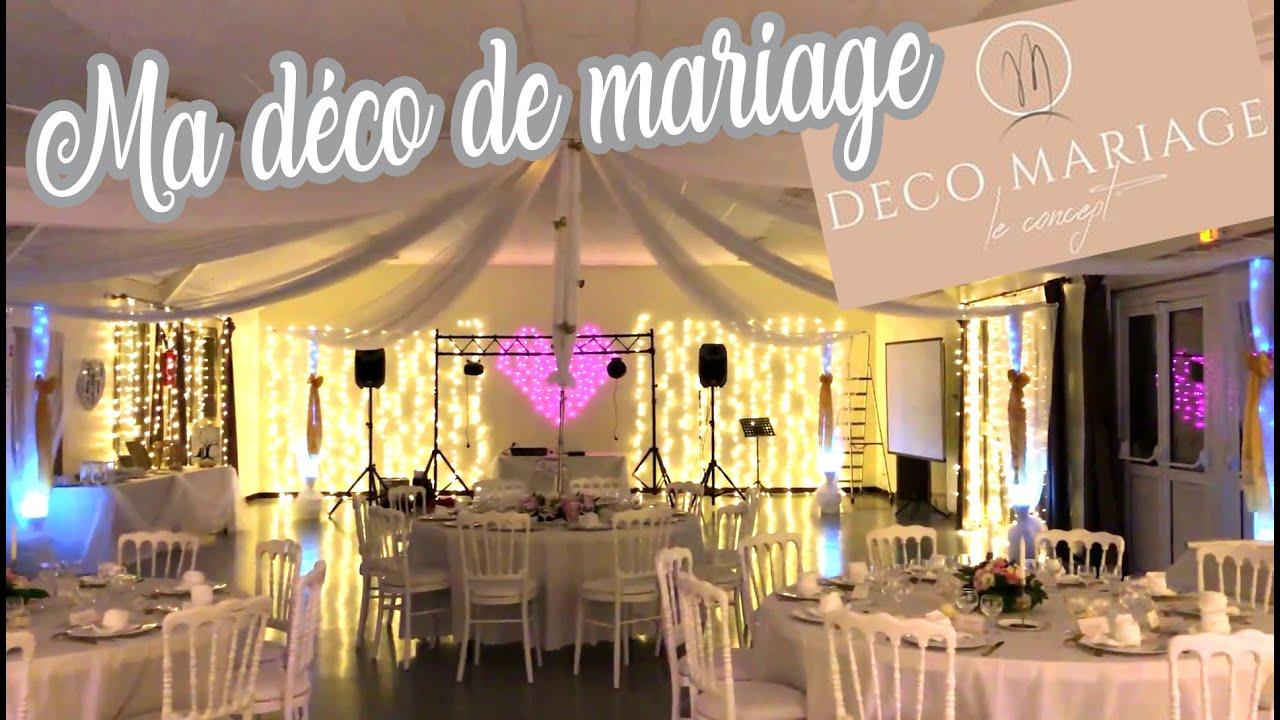 VLOG MARIAGE : Décoration de la salle avec DECO MARIAGE le concept