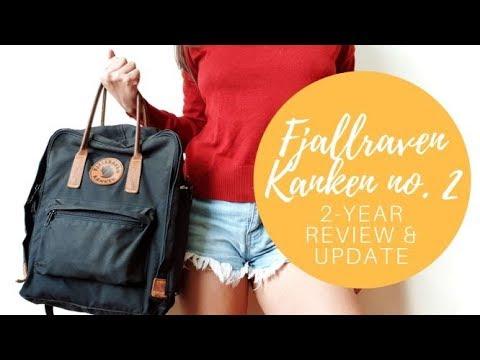 2 year backpack update • fjallraven kanken no. 2 [use review]
