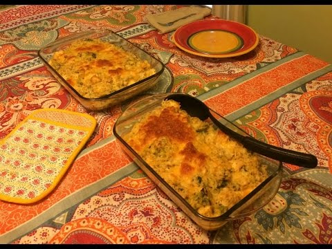 Chicken, Broccoli and Rice Casserole | Large Family Recipes