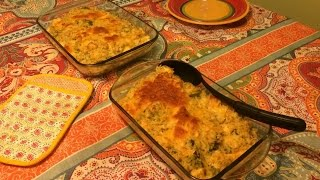 Chicken, Broccoli and Rice Casserole  Large Family Recipes