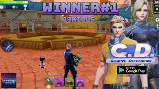 Creative Destruction Android Gameplay (Fortnite Clone)