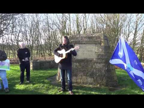 Battle of Roslin Rally The Amazing Kevin Gore Be a Nation Once Again
