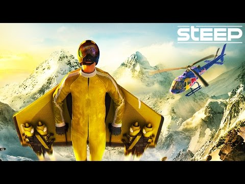 STEEP ROCKET WING COMING SOON GOLD EDITION! STEEP SEASON PASS - STEEP GAMEPLAY FUNNY MOMENTS & FAILS
