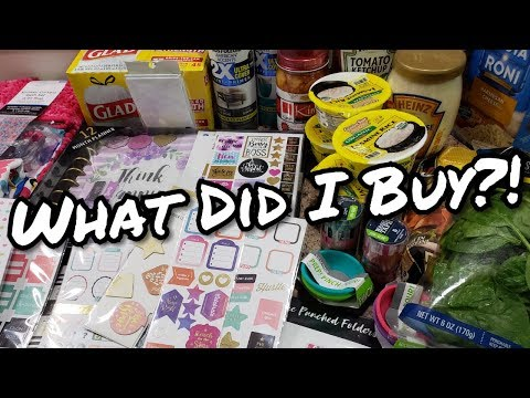 Grocery Haul - Summer Clearance - What Did I Buy - Bella Boo's Lunches