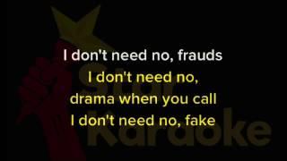 Nicki Minaj , Drake , Lil Wayne No frauds lyrics