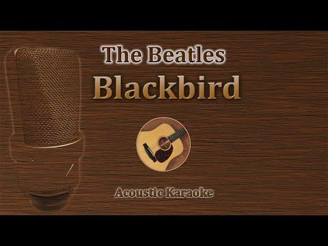 Blackbird - The Beatles (Acoustic Guitar Karaoke)
