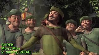 Gambar cover Shrek - Merry Men - 2. dabing / dubbing (2004 CZECH Scene) [HQ]