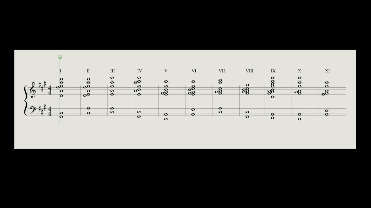 Music For 18 Musicians Steve Reich 11 Chord Cycle Youtube