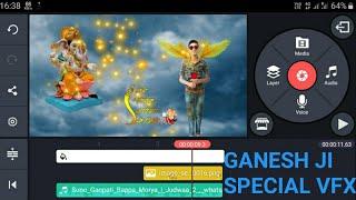 Ganesh chaturthi speziellen vfx-Bearbeitung| Kinemaster Tutorial | Wie erstelle Ganesh ji vfx In Android