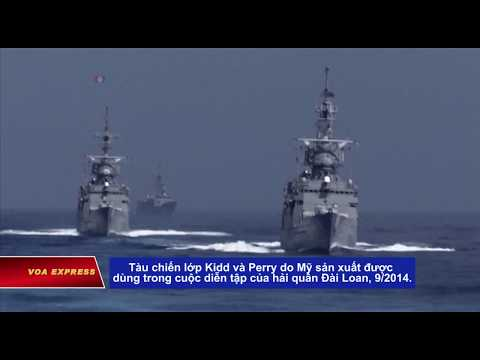 Tàu Mỹ có thể ghé Đài Loan, Trung Quốc phản đối