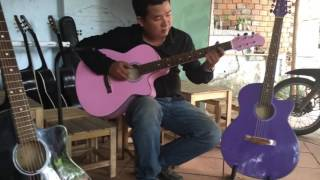Test guitar màu 700k
