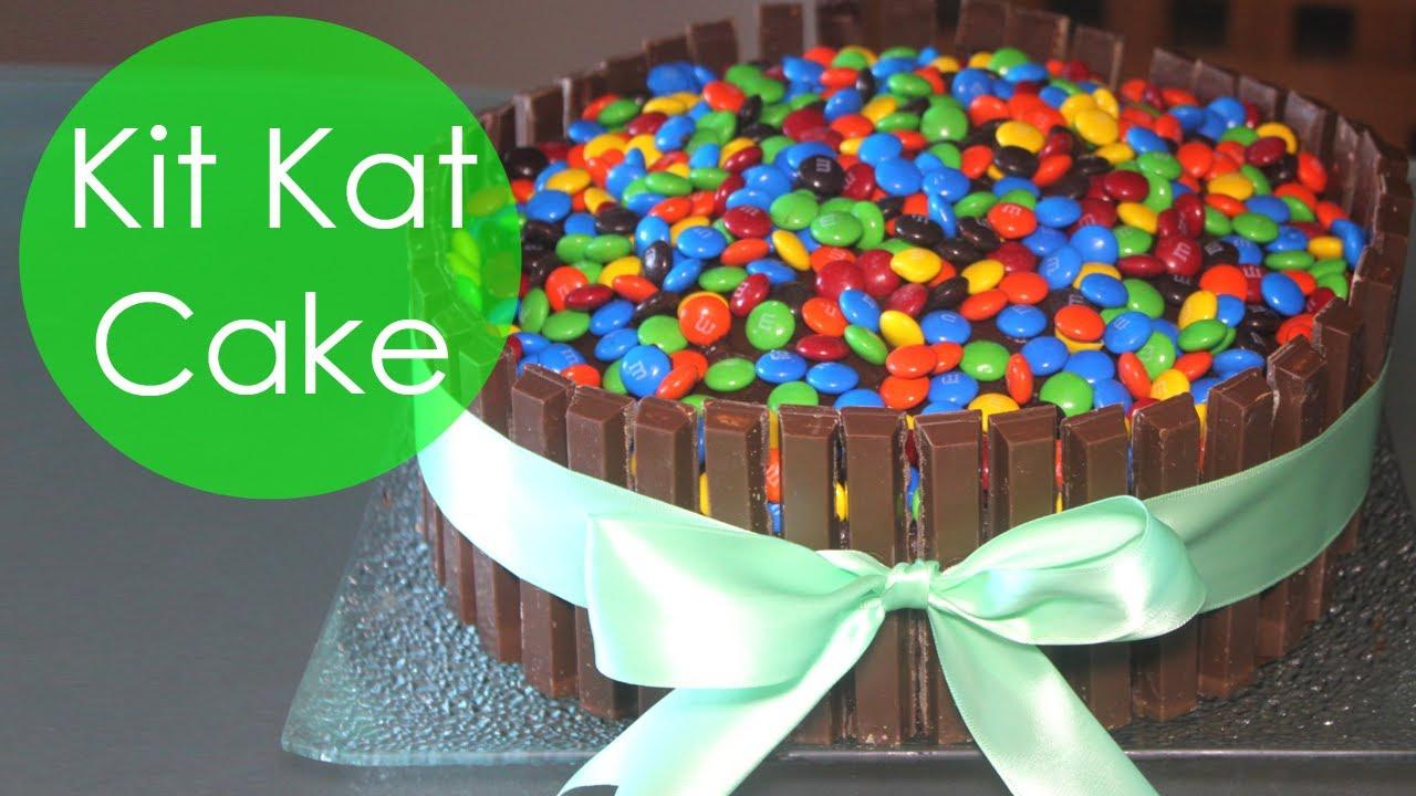 KIT KAT CAKE WITH MMs YouTube