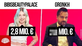 Die reichsten YouTuber Deutschlands