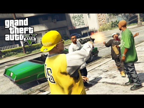 GANG WARS!! (GTA 5 Mods)