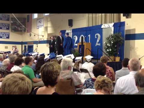 Whitinsville Christian school Eric and Jessa graduation 2013