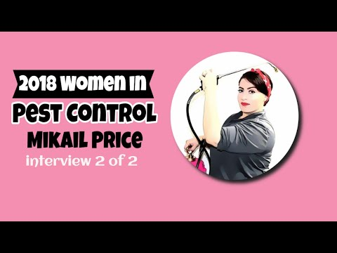 Women in Pest Control with Mikail Price 2 of 2 (episode 25B)