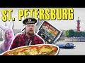 St. Petersburg, Russia on $100. Rooftops, Boat Rides and Secret Cafes.