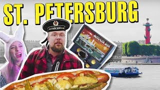 St. Petersburg, Russia on 0. Rooftops, Boat Rides and Secret Cafes.