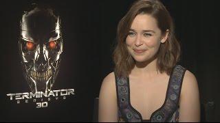 "Watch Terminator Genisys' Emilia Clarke Play ""Save or Kill"""