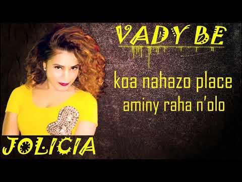 JOLICIA _ VADY BE LYRICS VIDEO