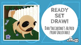 Ready Set Draw! Dan Yaccarino Draws Alfred from