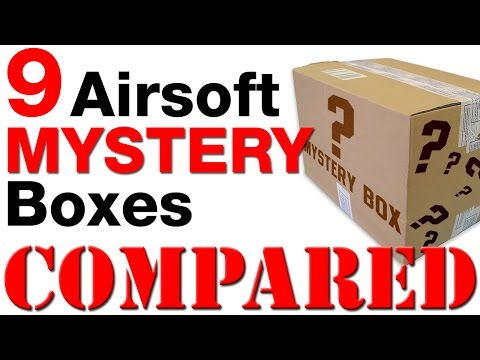 Airsoft Mystery Box Comparison - Which One Is Best?