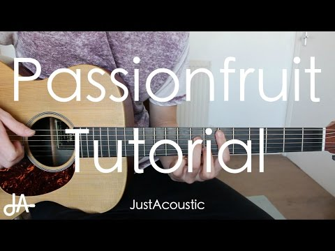 How To Play: Passionfruit - Drake (Guitar Tutorial Lesson)