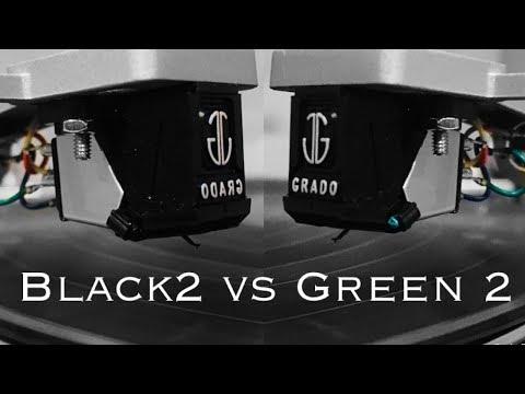 Grado Black vs Green