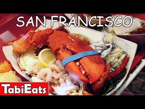 WHAT TO EAT in SAN FRANCISCO (Fisherman's Wharf)