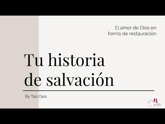El amor de Dios en forma de restauración