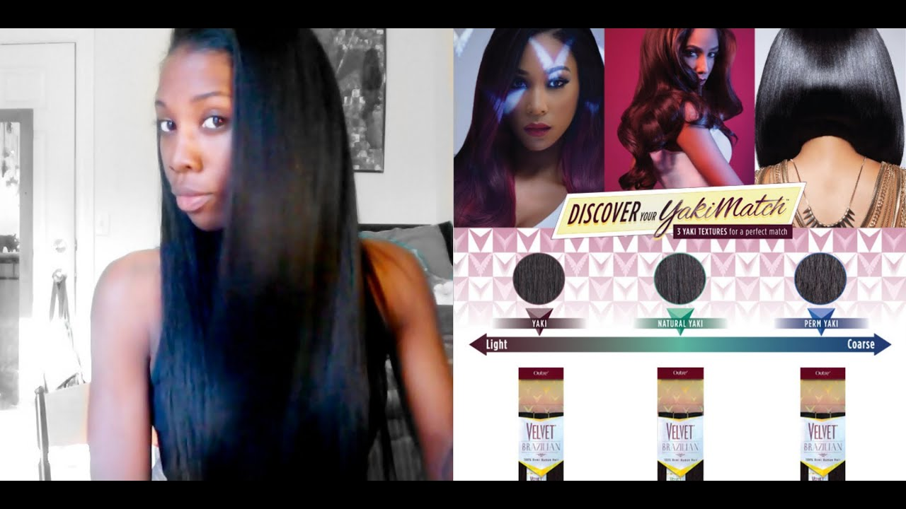 Final Review Outre Velvet Brazilian Remi Yaki Hair Youtube
